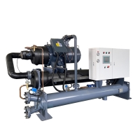 Buy cheap Factory Price CE Standard Plastic Industry 100 Tons Water Cooled Industrial Water Chiller product