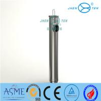 Buy cheap SS304/SS316L Perforated Plate strainer/ SS Strainer elements Tube Filter  Sanitary Filter Housing For Food Beverage product