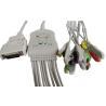 Buy cheap MORTARA EKG Cable 10 Lead 12 Pin Connector IEC 10k Resistance Snap Patient End product