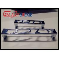 Buy cheap Chrome Hollow Kitchen Cabinet Handles And Knobs , 96mm Zinc Bedroom Closet Door from wholesalers