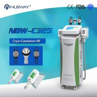 Buy cheap Beauty Equipments Cavitaion RF Weight Loss Fat Freezing Cryolipolysis slimming machine product