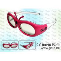 Buy cheap Small Size 3D Digital Cinema Shutter Glasses with Micro USB rechargeable Battery product