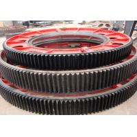 Buy cheap Forging steel heavy duty big gear wheel, spur gear power dryer transmission parts product