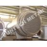 Quality Zirconium 60702 Floating Type Heat Exchanger , Floating Head Cooler for sale