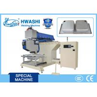 Buy cheap CNC Automatic Sink Seam Grinding and Polishing Machine with Mitsubishi Controlled System product