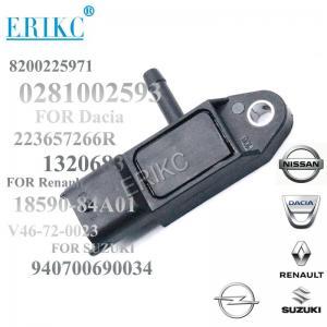 Buy cheap ERIKC car fit 0281002593  Intake Air Manifold Absolute Pressure MAP Sensor 8200225971 for SUZUKI NISSAN RENAULT product