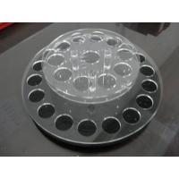 Buy cheap Round acrylic lipstick display holder with holes / acrylic display shelves product