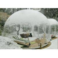 Buy cheap Outside Transparent Bubble Room Tent 3M / 4M / 5M / 6M Dia Or Customized Size product