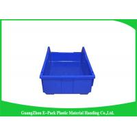 Buy cheap Shelf Wall Mounted Industrial Plastic Storage Boxes , Heavy Duty Plastic Stackable Bins product