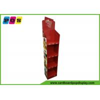 Buy cheap Custom Made Paperboard Four Trays Toys Floor Shipper Display Shelf FL209 from wholesalers