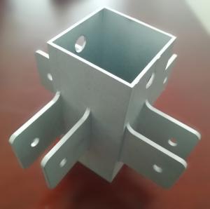 Buy cheap OEM Machining Service Aluminium Extrusion Profiles 6061- T6 CNC Milling Machine Part product