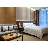 Buy cheap Modern Laminate Hotel Bedroom Furniture Sets Optional Size Plywood MDF Materials product