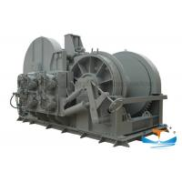 Marine Steel Hydraulic Towing Winch 10-500t Working Load With Multi - Plate Brake