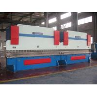 Buy cheap Two Huge Sheet Metal Bending Machine Hydraulic System Light Pole Synchronization CNC Control product
