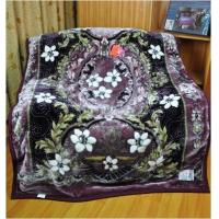 Buy cheap 100% Polyester Single Bed Blankets With Mixed Colours Sigle Printed product