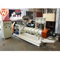 Buy cheap Boiler Fish Feed Processing Machine , Wet Type Floating Fish Feed Making Machine product
