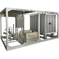 Buy cheap LAr / LCO2 / LNG Boosting Vaporizer Skid Mounted Equipment 100-8000Nm3/h product