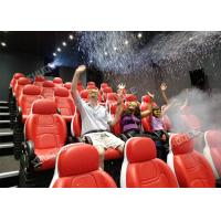 Buy cheap Update 4D Movie Theater Seats With Three Ultra Features And Physical Effect Technology product