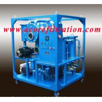 Buy cheap High Vacuum Transformer Oil Purification Dehydration Systems product