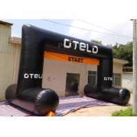 Buy cheap Black Custom Inflatable Arch Oxford Cloth Material UV Protection product