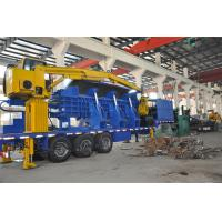 Buy cheap Hydraulic Drive Portable Baler / Logger Diesel 220 - 300 HP 75 - 110KW product