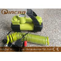 Buy cheap Car 12v Portable Air Compressor Metal Material With 2 * 30mm Double Cylinder product
