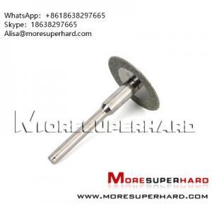Buy cheap Diamond Rotary Cutting Disc, Mini Dis   Alisa@moresuperhard.com product