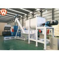 Buy cheap Hammer Mill Poultry Feed Manufacturing Equipment 380V 50Hz Capacity 600-800kg/H product