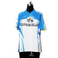 China Light Breathable Material Road Cycling Jersey UV Protect For Fitness Workout on sale