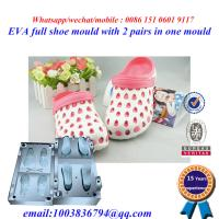 Buy cheap High Strength Flip Flop Mold Die Casting Two Pairs In One Mold product