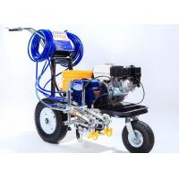Buy cheap Striping Road Line Marking Machine With Double Guns And Piston Pump product