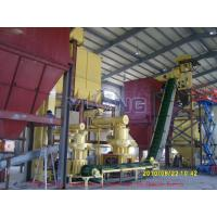 Buy cheap YULONG 4-6T/H wood pellet production line product