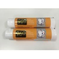 Buy cheap Whitening Toothpaste Plastic Laminated Tubes Package With Big Flip Top Cap , DIA40*138mm product