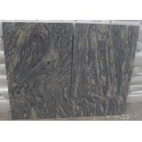 Buy cheap Polished G441 China Light Grey pink Juparana Imperial Sand Wave Granite Tread stone tiles slabs product