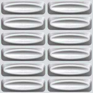 Buy cheap 3D Wall Board Custom Natural Fiber Wallpaper product
