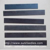 Buy cheap Perforated knife blade steel cutter dies, perforation steel blade wooden dies product