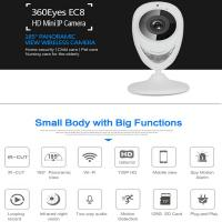 Buy cheap EC8 HD 720P Mini Wifi IP Camera Wireless P2P Baby Monitor Network Remote CCTV Surveillance DVR Camera Playback on App product