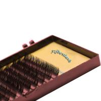 Buy cheap 0.07 16 rows Volume Eyelash Extension Mink Fake eyes lashes product