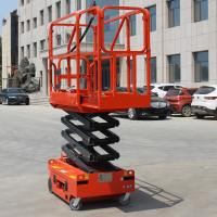 Buy cheap Auto Brake System Self Leveling Scissor Lift Safety Flexible Operation product
