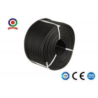 Buy cheap 10mm2 Copper Single Core Solar Panel Cable Wire Strong Flexibility For Solar System product