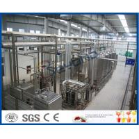 Buy cheap Energy Saving 2000-10000LPH  continuous  Ice Cream Machine  ISO9001 / CE / SGS product