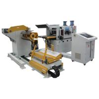 Buy cheap Metal Strip Material Stamping Decoiling And Straightening Machine / Vertical Broaching Machine product