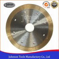 Buy cheap 105mm - 350mm Sintered Ceramic Tile Saw Blades For Porcelain Cutting with Narrow Laser Cut Key slot product