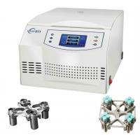 Buy cheap BT5 Steel Body Low Speed Centrifuge Machine / Safety electric lid lock Centrifuge Machine product
