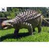 Buy cheap Life Size Animatronic Dinosaur Realistic Resin Waterproof Ankylosaurus Display product