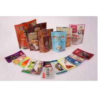 Buy cheap Stand Up Mylar Zipper Food Packaging Pouch Heat Seal User - friendly product