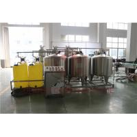 Buy cheap Automated Fruit Juice Making Machine With CIP Cleaning System Bottle Washing product