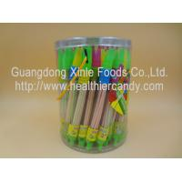 Buy cheap Whistle Pen Sweet Sour CC Sticks Candy With Red / White / Pink Colour product