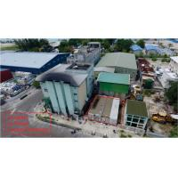 China Maldive Power House Building Steel Frame With 3 - Layers Epoxy Painting on sale