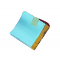 Buy cheap 300mAh 3.7V Customs Curved Li-Battery For Smart Phone Accessory product